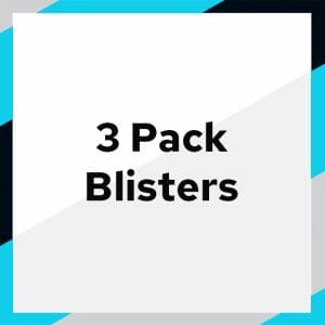 3 Pack Blisters