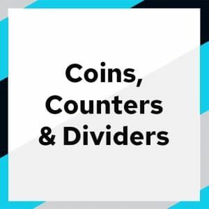Coins, Counters & Dividers