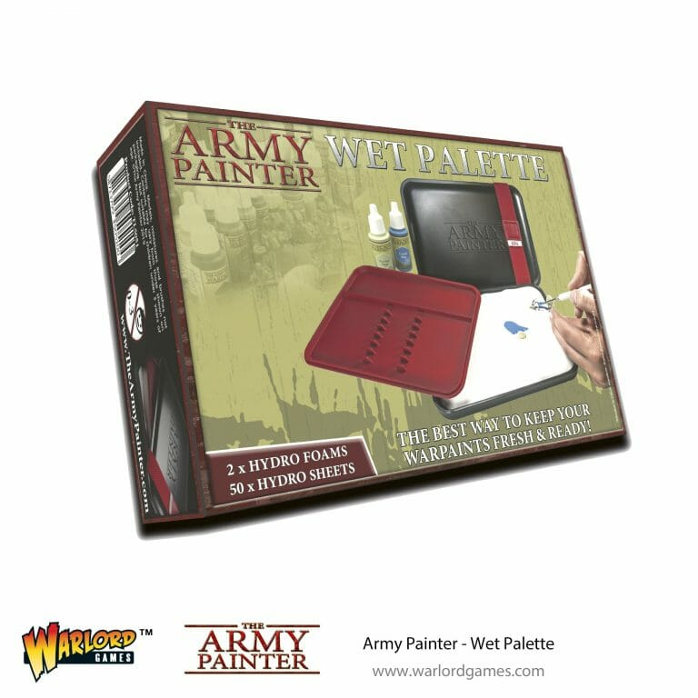 Army Painter wet palette for miniature painting at The Games Den